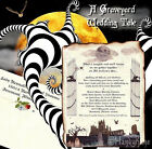 qty 50 Halloween Gothic A Scroll Wedding Invitations Invites