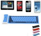 Bluetooth Wireless Keyboard for Tablet Samsung Galaxy Note 10.1 Tab 2 iPad iPhon