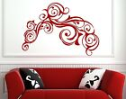 Busy contemporary Corner Swirl wall stickers vinyl decal decor NEW 30cm x 45cm