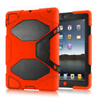 """Hybrid Heavy Duty Shockproof Case Cover Stand For iPad 2/3/4 """"Waterproof"""""""