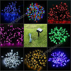 Solar Power 7 Color Light 100/200 LED Garden Christmas Party String Fairy LampCA