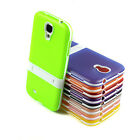 Transparent Ultra-thin TPU Soft Case W/Stand  For Samsung Galaxy S4 SIV i9500