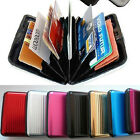 New 8 Colors Business Aluminum RFID Blocking Credit ID Card Wallet Case Box