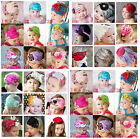 NEW for Baby vintage Feather Pad prop headband flower hair band Accessorie Color