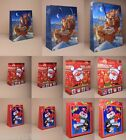 PACK OF 12 GLOSSY PAPER CHRISTMAS GIFT BAGS: CHEAPEST ON EBAY CHOOSE DESIGN