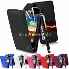 FLIP CASE POUCH PU LEATHER COVER WALLET FOR SAMSUNG GT-I8160 GALAXY ACE 2 + SP