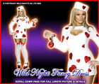 *** SALE *** Fancy Dress Costume # Ladies Valentine Prisoner of Love Size 8-18