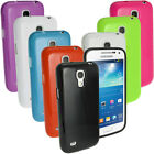 Glossy TPU Gel Skin Case Cover for Samsung Galaxy S4 SIV MINI I9190 I9195 Bumper