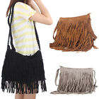 New Fashion Celebrity Tassel Fringe Shoulder Messenger Handbag Cross Body Bag