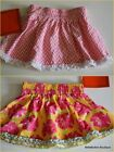 NWT Trish Scully Child Skirt CHOICE Pink Yellow Hydrangea Floral Print 12-18M 3