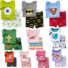 Beautiful! Baby&Toddler Kid's Boys Girls Pajamas T-shirt+short pants Size2T-7T