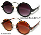 80s Retro round fashion sunglasses vintage  tortoise shell & black,great quality