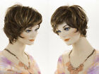 Short Lace Front Light Weight Wavy Wig Pro Blonde Brunette Red Grey Wigs