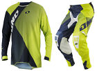 NEW 2014 ONE INDUSTRIES GAMMA CZAR JERSEY PANTS GEAR COMBO CHARTREUSE ALL SIZES