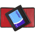 Slim Leather Wallet with ID/Travel Pass/ Oyster Card Holder