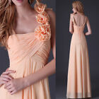 Womens Dress Wedding Bridesmaid Evening Party Long Formal Prom Gown US Size 2-16