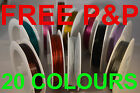 GREAT QUALITY TIGER TAIL WIRE CHOOSE COLOUR AND SIZE BEADING THREAD   UK STOCK