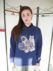 Cat Collage Jumper, Cat Sweatshirt, Cat Sweater, Cats, Animals,Pets, Womens, New