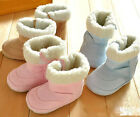 Toddler baby fur winter boots boys girls Snow Shoes (Size 0-18 months)061