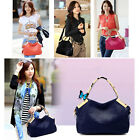 Fashion Women Handbag Crocodile Pattern PU Leather Tote Shoulder Messenger Bag