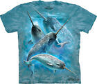 NARWHALS Nar-whale Sealife The Mountain T Shirt Adult Sizes Unisex