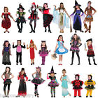 Girls Pirate Witch Historical Vampire Fairytale Halloween Fancy Dress Costume