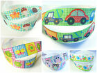 "3m/6m/12m 22mm 7/8"" Butterfly Cars Trucks Owls Grosgrain DIY Arts Crafts Ribbon"