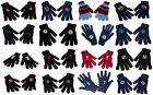 OFFICIAL FOOTBALL CLUB - KNITTED GLOVES - One Size Fits All (Gift/Xmas/Present)