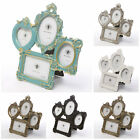4 Aperture Multi Image Wall Table Photo Picture Frame Stand French Baroque