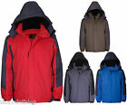 Kadite performance ski style outdoor hooded fleece lined quilted coat jacket