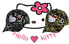 Hello Kitty Metallic Fashion Cap Adjustable Strap New Free Postage