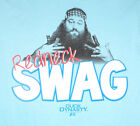 "Duck Dynasty Women's ""Redneck Swag"" Willie Blue T Shirt  (S/M/L/XL/2XL)"