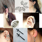 New Fashion 1 PCS Gothic Punk Cute Women Earrings Ear Studs Clips 9 style SED058