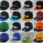 New State Property Brooklyn Flat Peak Retro Snapback Baseball Cap Hat