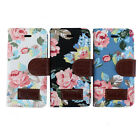Pretty Stand Flip Leather Flower Wallet Magnetic Skin Case Cover For iPhone 5C