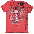 Amplified SAINTS & SINNERS GOTHIC Strass Rock Star Designer ViP T-Shirt g.M-XXL