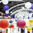 """Multicolor Chinese paper Lanterns Wedding Party Decoration 8"""" 10"""" 12"""" 14"""" Nice"""