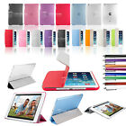 Magnetic Ultra Thin Smart Cover+Back Case For New iPad 5 iPad Air FREE Protector