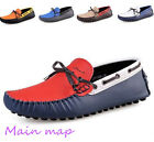 2013 Hot! Mens Casual Shoes Cowhide Driving Moccasins Slip On Loafers