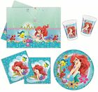 ARIEL - BEAUTIFUL MERMAID - PARTY RANGE (Tableware/Balloons) (Disney Princess)
