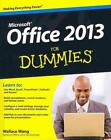 MICROSOFT OFFICE 2013 FOR DUMMIES - WANG, WALLACE - NEW PAPERBACK BOOK