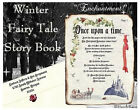 Winter Fairy Tale Princess Scroll Wedding Party Invitations ~ Rsvp ~ Placecards