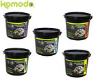 KOMODO TORTOISE FOOD 2KG COMPLETE FEED HOLISTIC NATURAL DIET 5 FLAVOURS GENUINE