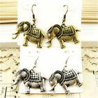 Goth punk biker goth vintage retro style elephant earrings multiple choices