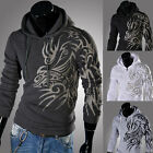 2013 New Fashion Mens Slim Fit Sexy Top Designed Hoodies Jackets Coats Tops XS~L