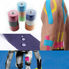 1 Roll 5m x 5cm Sports Muscles Care Elastic Kinesiology Physio Therapeutic Tape