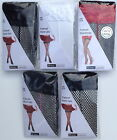 Seamed Fishnet Hold Up Stockings -Thigh High Fishnet Hold Up Stockings- Sexy Sto