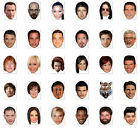 BATCH #3 - DO IT YOURSELF (DIY) CELEBRITY FACE MASKS - 30 TO CHOOSE - LOW PRICE!