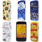 New Christmas Red House Gifts Cloud Hard Back Case Cover for Google Nexus 4 E960