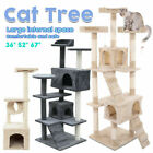 "36 52 67"" Cat Tree Scratching Activity Centre Toy House Scratcher Scratch Post"